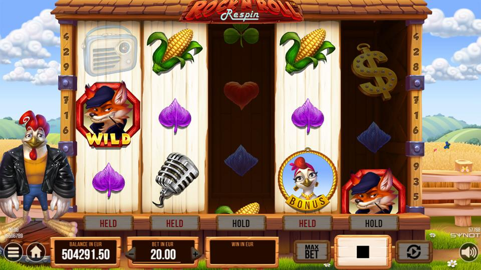 Rockn Roll Rooster respins fox