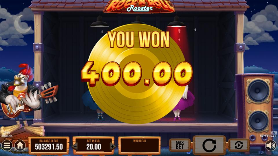 Rockn Roll Rooster win 2