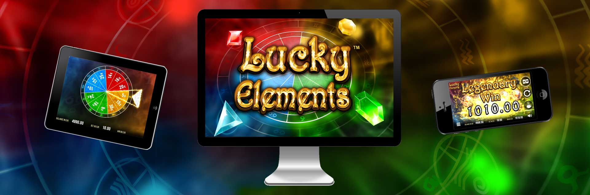 Lucky Elements Header HomePage Image