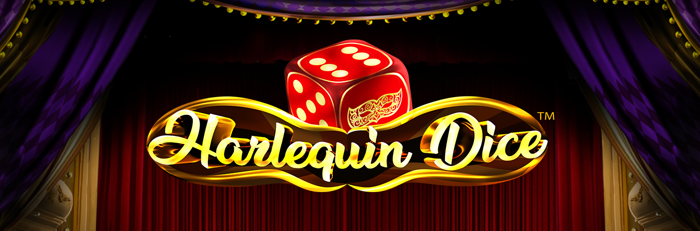 Harlequin Dice banner news