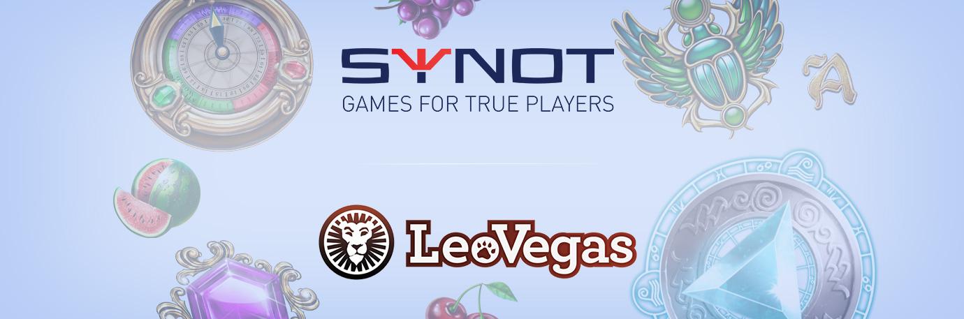 LeoVegas header news banner