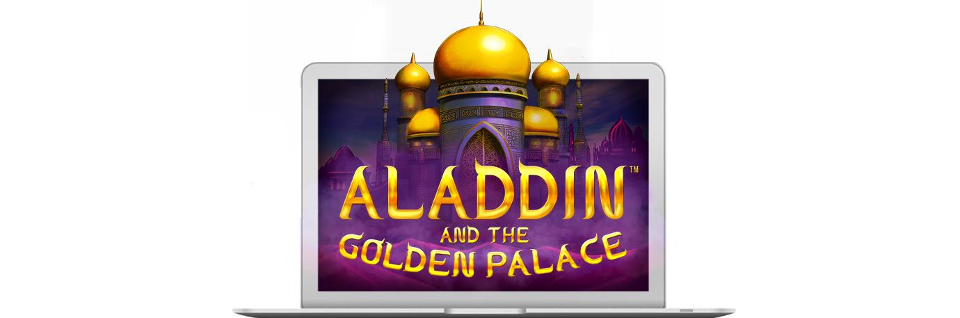 Aladdin and the Golden Palace header news