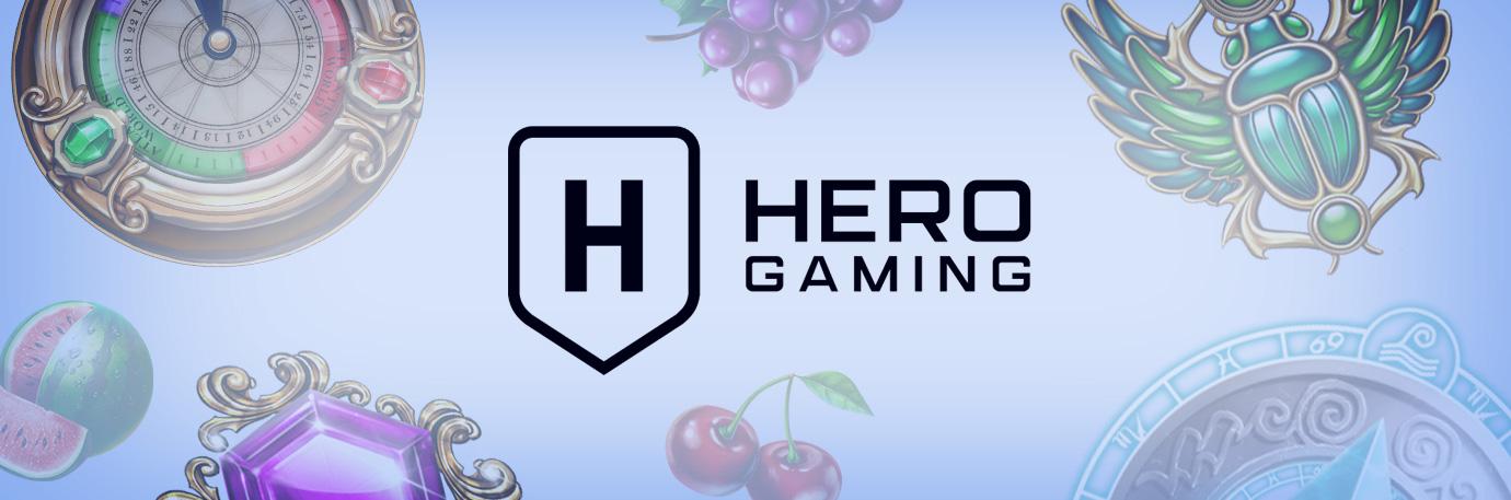 Hero Gaming header press
