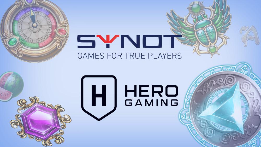 Hero gaming partners banner