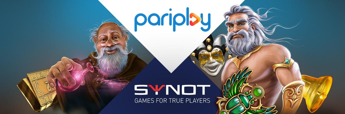 Pariplay header news