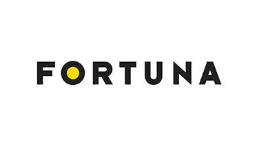 Fortuna logo biele