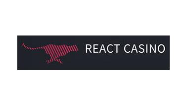 Logo react casino